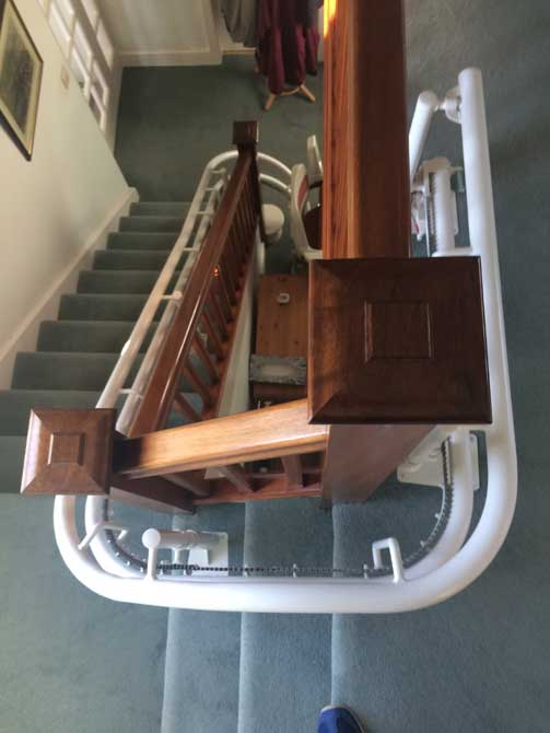 Curved stairlifts for all requirements